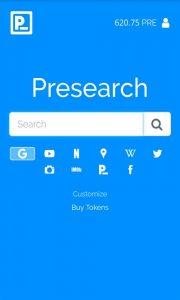 presearch app