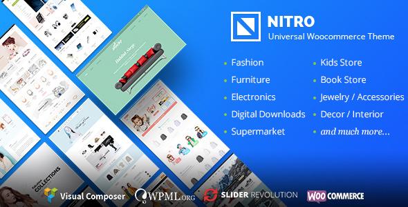Nitro Plantilla Ecommerce WordPress