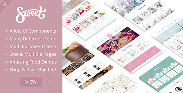 Plantilla WordPress para pasteleria o cafeteria