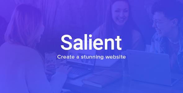 Salient Plantilla WordPress