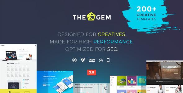 The Gem Tema WordPress