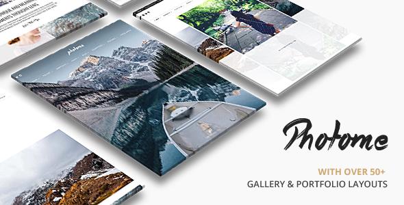 plantilla wordpress para fotografos y diseñadores graficos - photo me